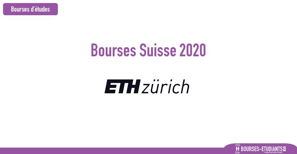 bourse ETH Zurich