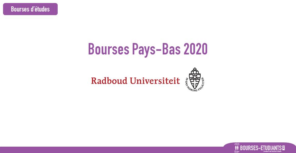bourse Radboud University