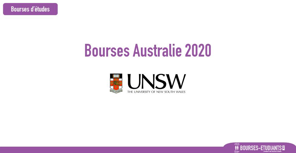 bourse UNSW