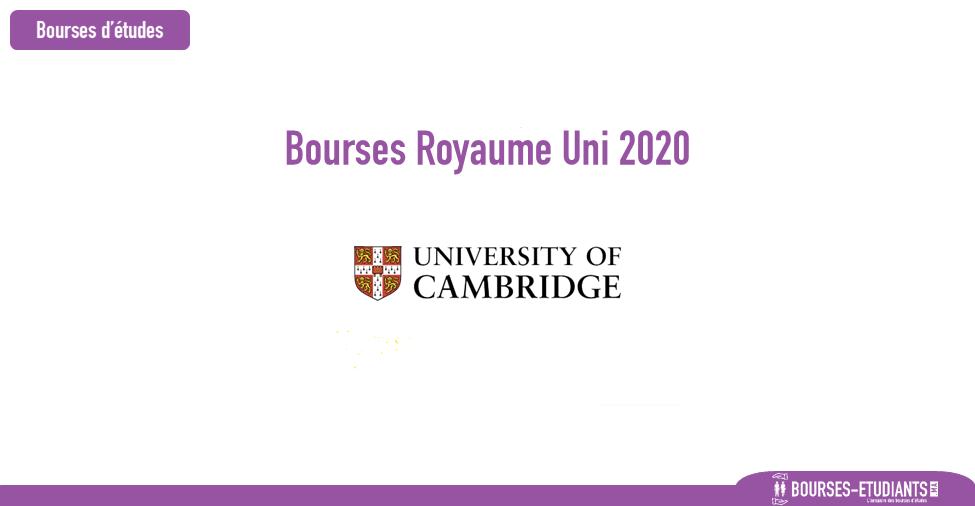 bourse university of cambridge