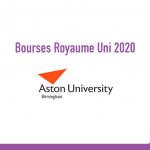 bourse Aston University