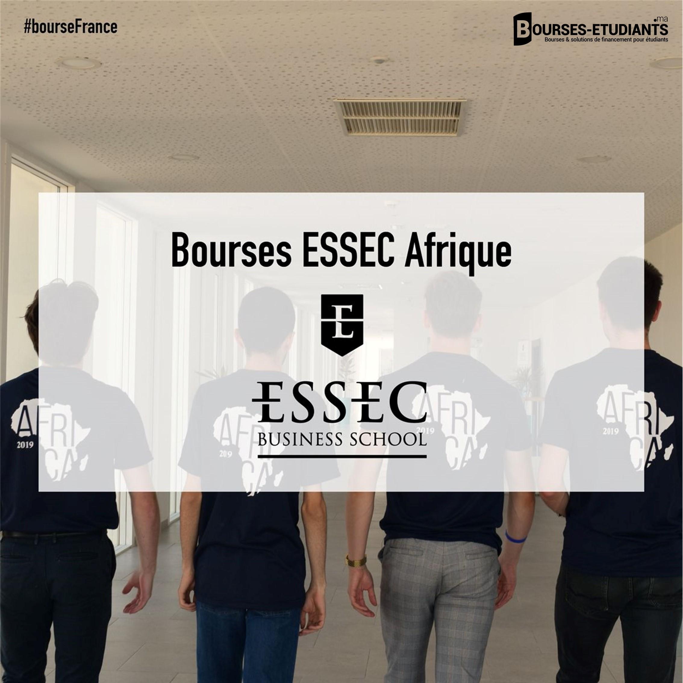 bourse ESSEC Afrique