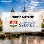 Bourse Australie: The university of sydney