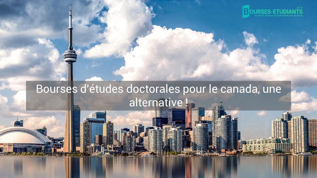 Bourse études Canada